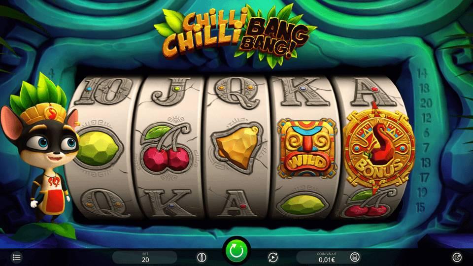 Видео слот Chilli Chilli Bang Bang от разработчика игр iSoftBet