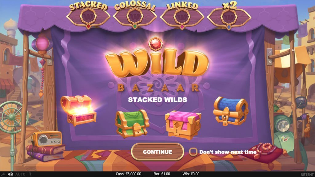 NetEnt Wild Bazaar Slot Review