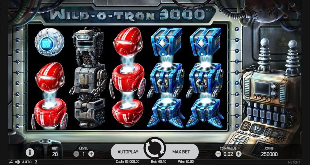 Обзор видеослота Wild-O-Tron 3000