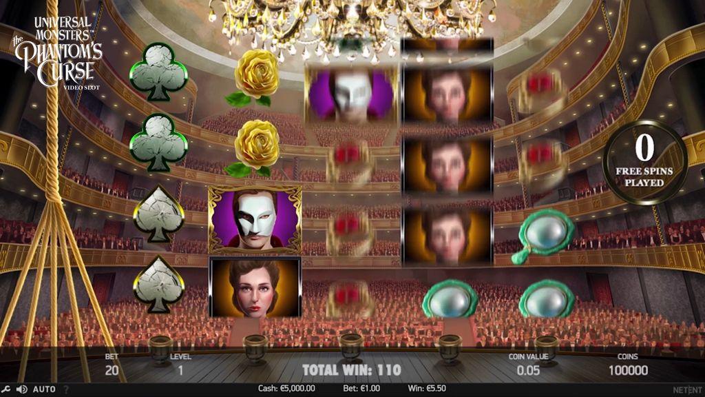 NetEnt The Phantom's Curse Slot Review