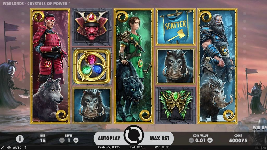 NetEnt Warlords Slot Review