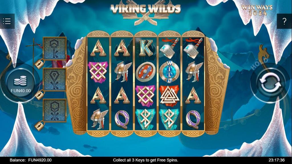 Обзор видео слота Viking Wilds