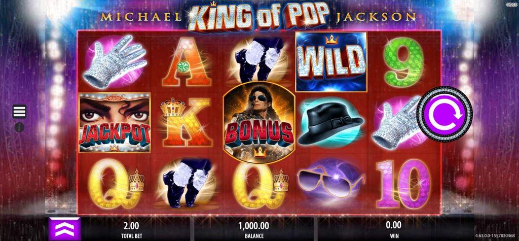 Обзор видеослота Michael Jackson King of Pop