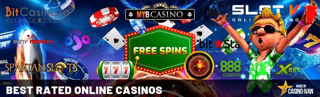 Best Rated Online Casinos by Casino Ivan