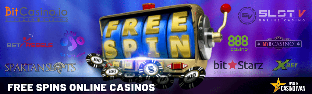 Free Spins Online Casinos by Casino Ivan