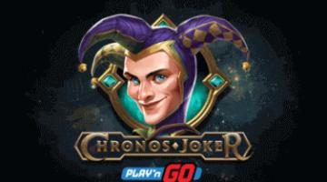 Логотип видеослота Chronos Joker
