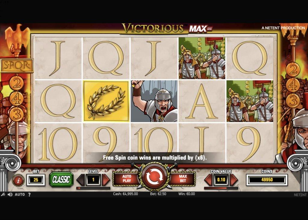 Обзор видеослота Victorious Max