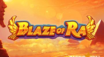 Видеослот Blaze of Ra