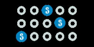 Рассеянные символы онлайн слота