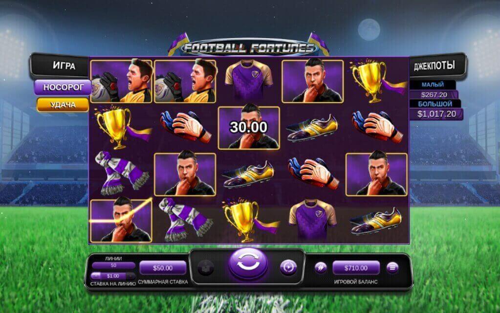 Обзор игрового автомата Football Fortunes